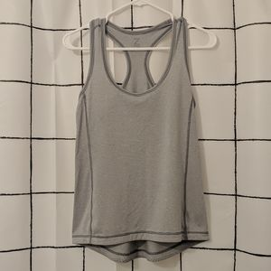 Zella Striped Athletic Tank Top